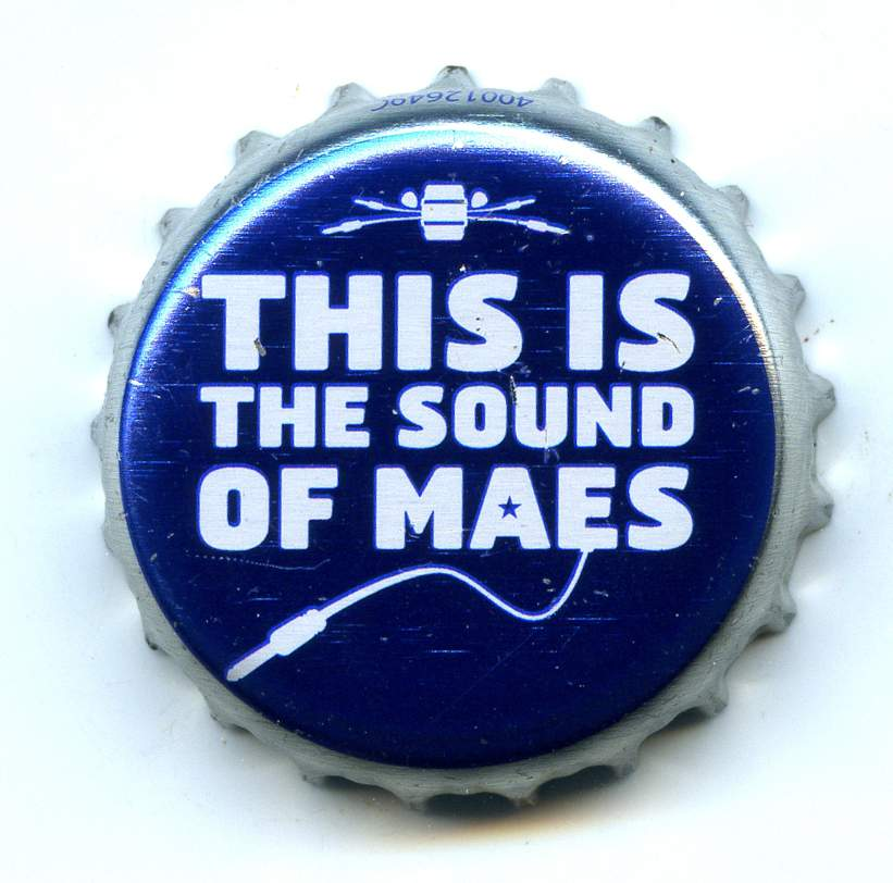 Maes Music Bier_Alken-Maes_Maes-Music-This-is-the-sound-of-maes